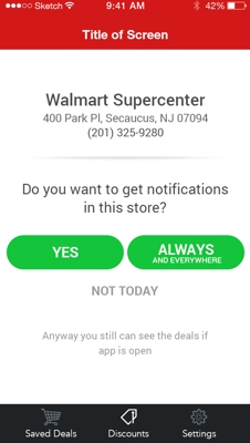 1 Targeted customers only